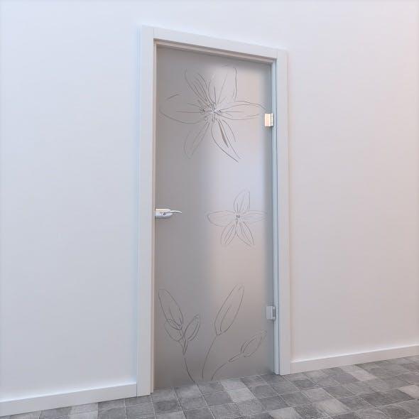 Glass Door Standart 005 - 3DOcean Item for Sale