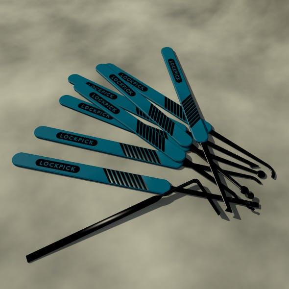 Lockpick Set - 3DOcean Item for Sale