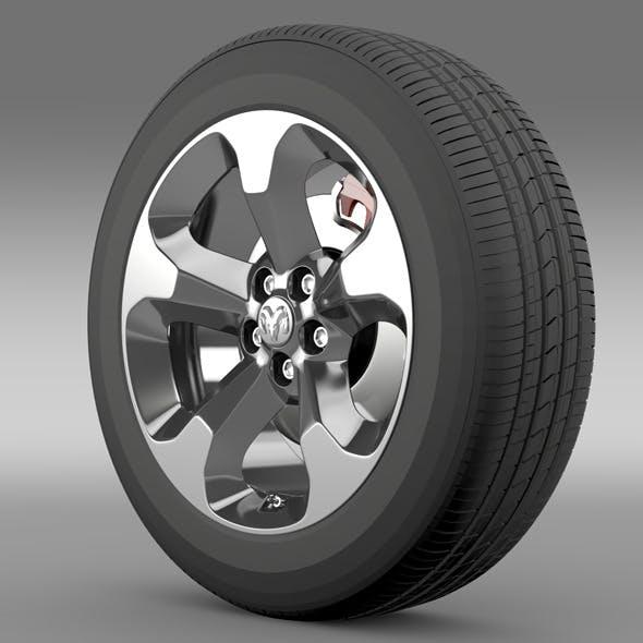 Ram Promaster City Tradesman wheel 2015