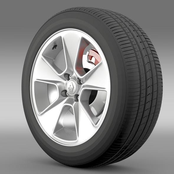 Renault Logan2 wheel - 3DOcean Item for Sale