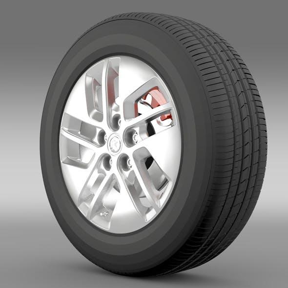 Vauxhall Vivaro wheel 2015