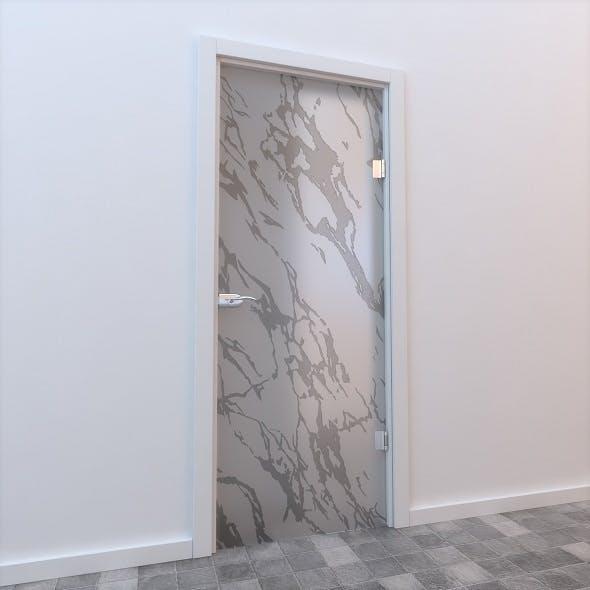 Glass Door Standart 007 - 3DOcean Item for Sale