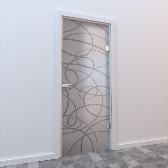 Glass Door Standart 008 - 3DOcean Item for Sale