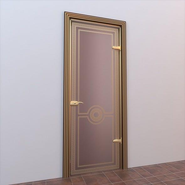 Glass Door Standart 009 - 3DOcean Item for Sale