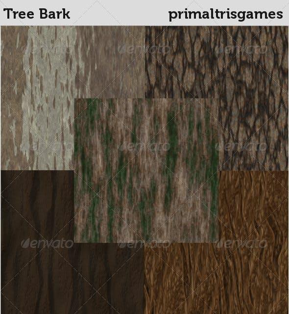 Tree Bark Textures - 3DOcean Item for Sale