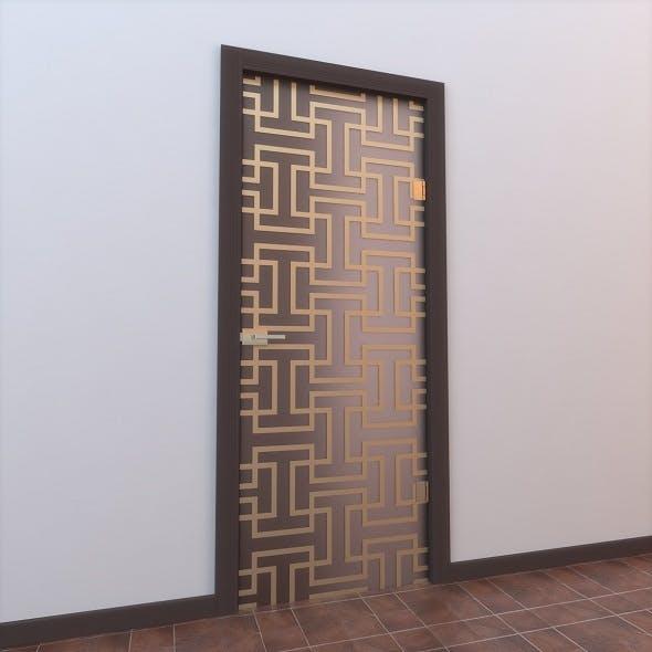 Glass Door Monoblock 004 - 3DOcean Item for Sale