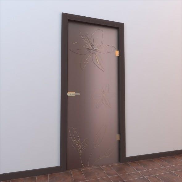 Glass Door Monoblock 005 - 3DOcean Item for Sale