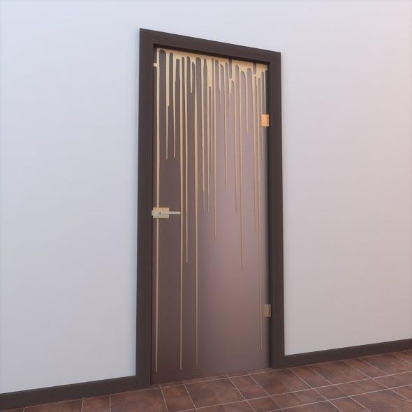 Glass Door Monoblock 006 - 3DOcean Item for Sale