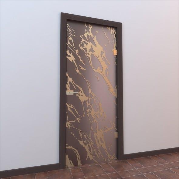 Glass Door Monoblock 007 - 3DOcean Item for Sale