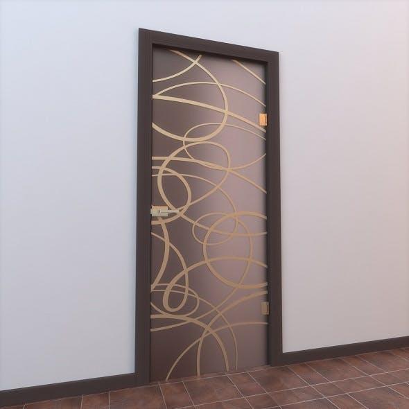 Glass Door Monoblock 008 - 3DOcean Item for Sale