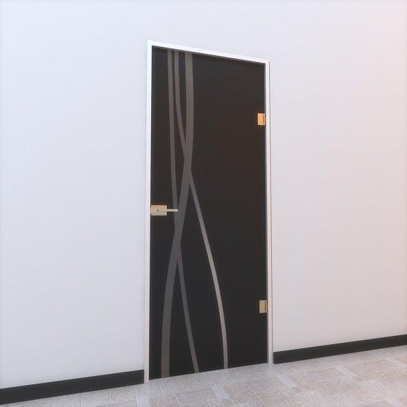 Glass Door Z 003 - 3DOcean Item for Sale