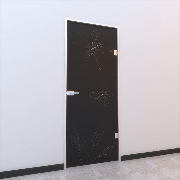 Glass Door Z 005 - 3DOcean Item for Sale