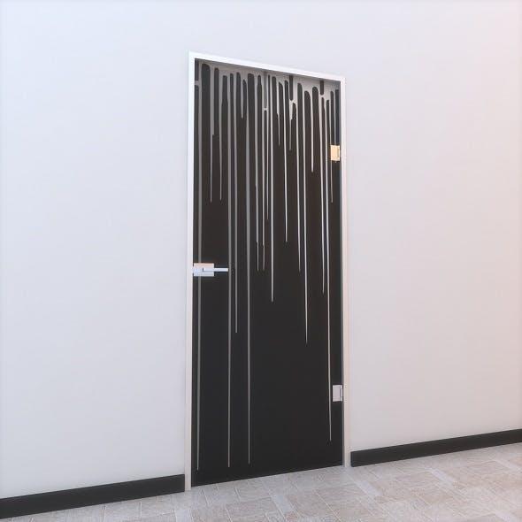 Glass Door Z 006 - 3DOcean Item for Sale