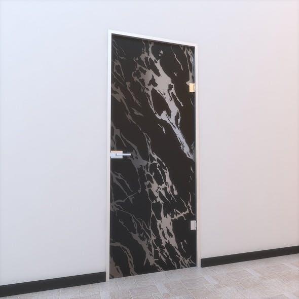 Glass Door Z 007 - 3DOcean Item for Sale