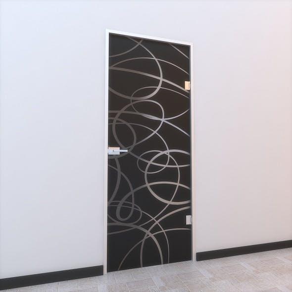 Glass Door Z 008 - 3DOcean Item for Sale