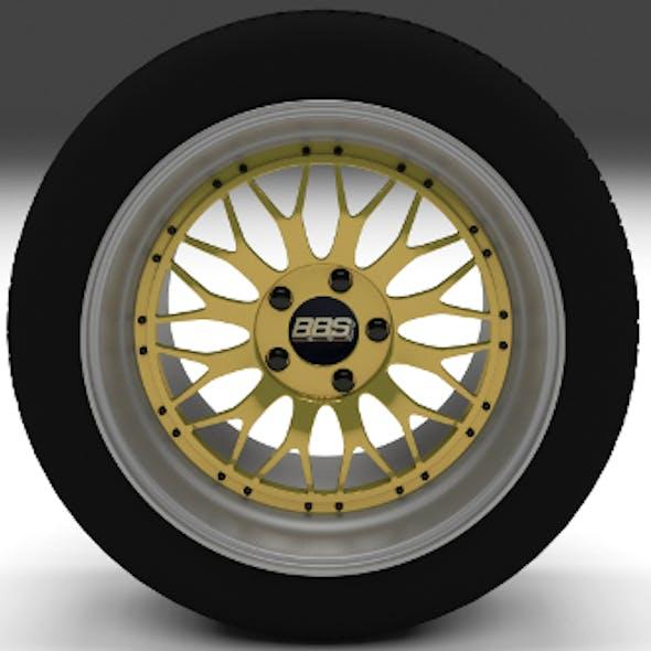 BBS Wheel Gold