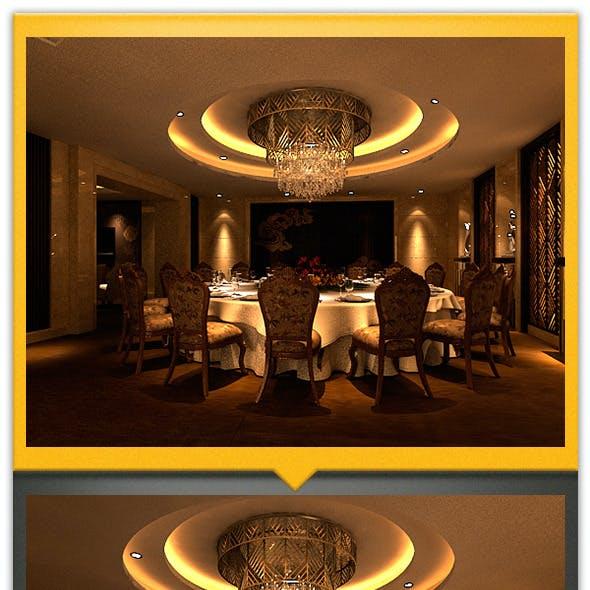 Hotel dining room, VIP room