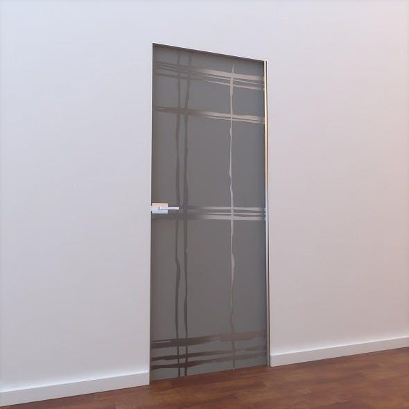 Glass Door L 001 - 3DOcean Item for Sale