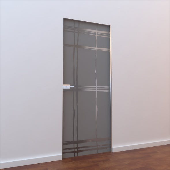 Glass Door L 001