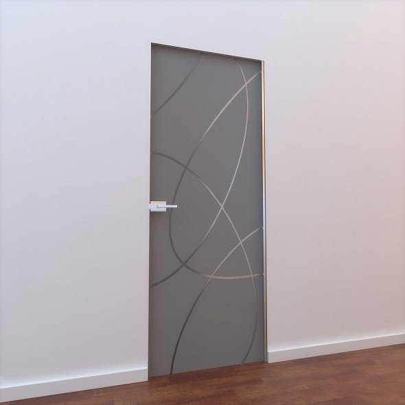 Glass Door L 002