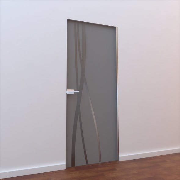 Glass Door L 003