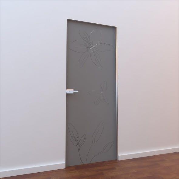 Glass Door L 005 - 3DOcean Item for Sale