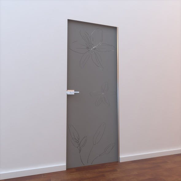 Glass Door L 005