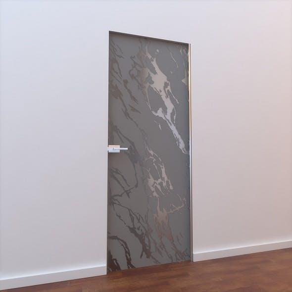 Glass Door L 007 - 3DOcean Item for Sale