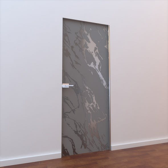 Glass Door L 007