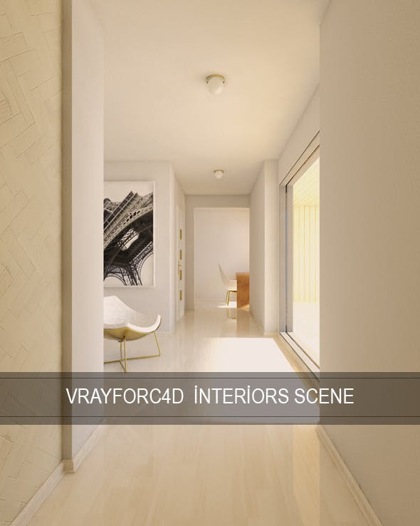 Vray For C4D Interior Render Setups - 3DOcean Item for Sale