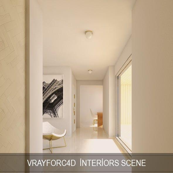 Vray For C4D Interior Render Setups