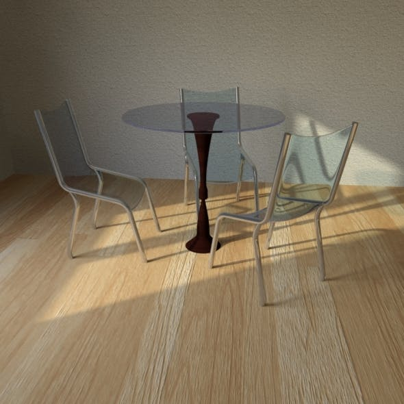 Set for kitchen - 3DOcean Item for Sale