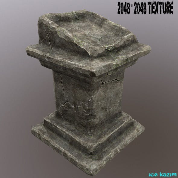 lectern - 3DOcean Item for Sale