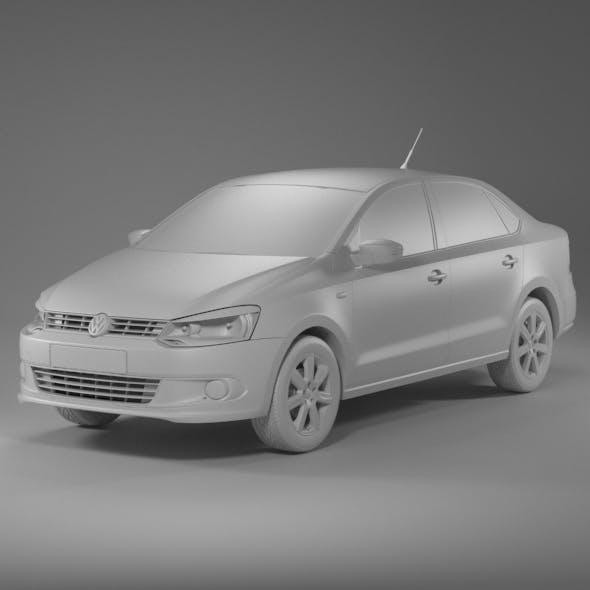 Volkswagen polo sedan - 3DOcean Item for Sale