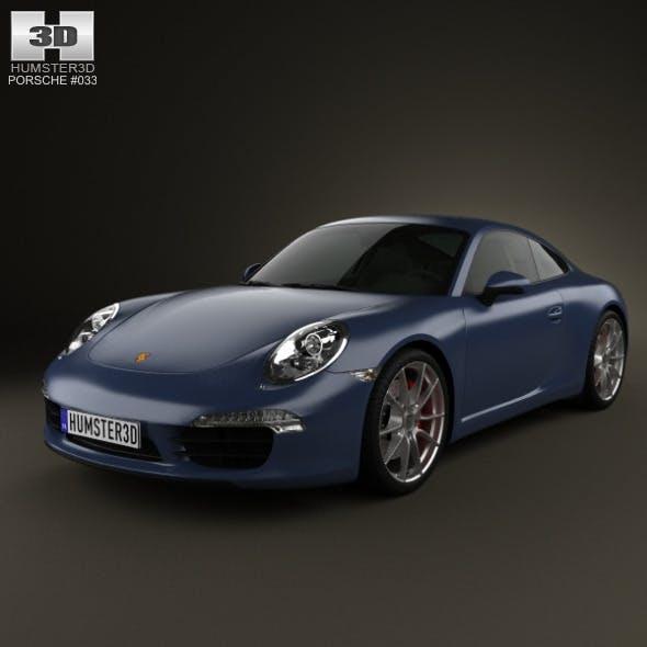Porsche 911 Carrera S Coupe 2012 - 3DOcean Item for Sale