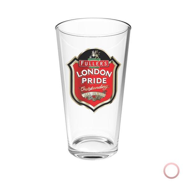 London Pride Beer Glass