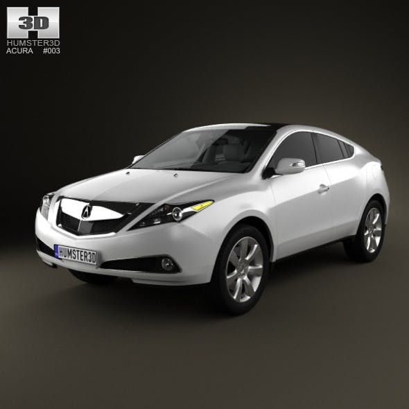 Acura ZDX 2012 - 3DOcean Item for Sale