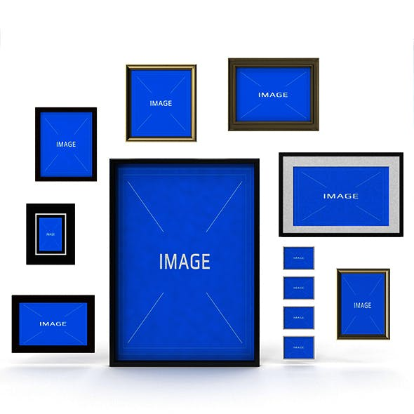 Picture Frame Stet - 3DOcean Item for Sale