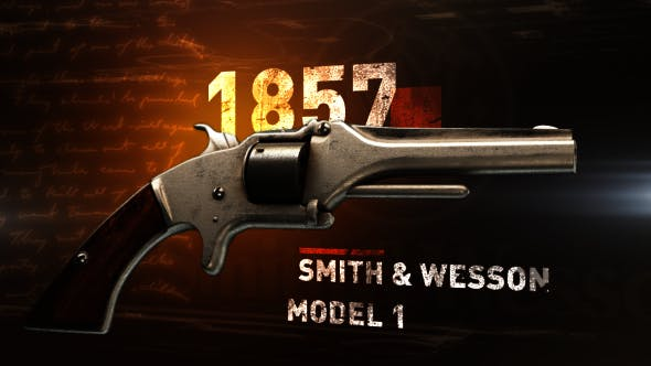 Smith & Wesson Model 1 Whith Short .22 - 3DOcean Item for Sale