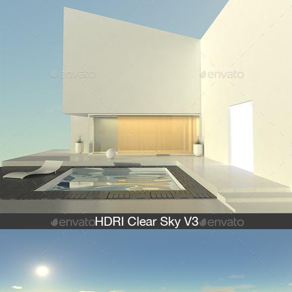HDRI Clear Sky V3