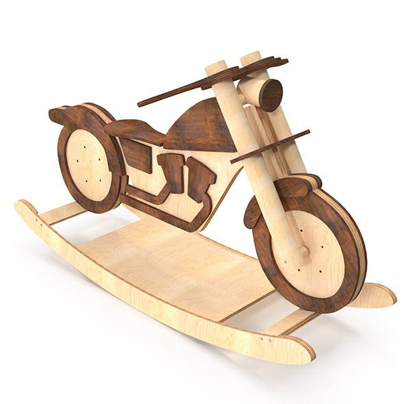 Rocking Horse - Motorcycle - 3DOcean Item for Sale