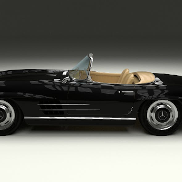 Mercedes 300SL Roadster W198