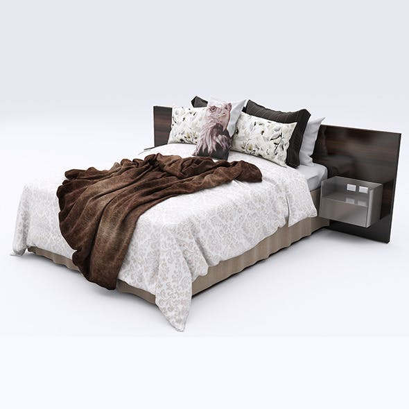Bed Collection 43 - 3DOcean Item for Sale