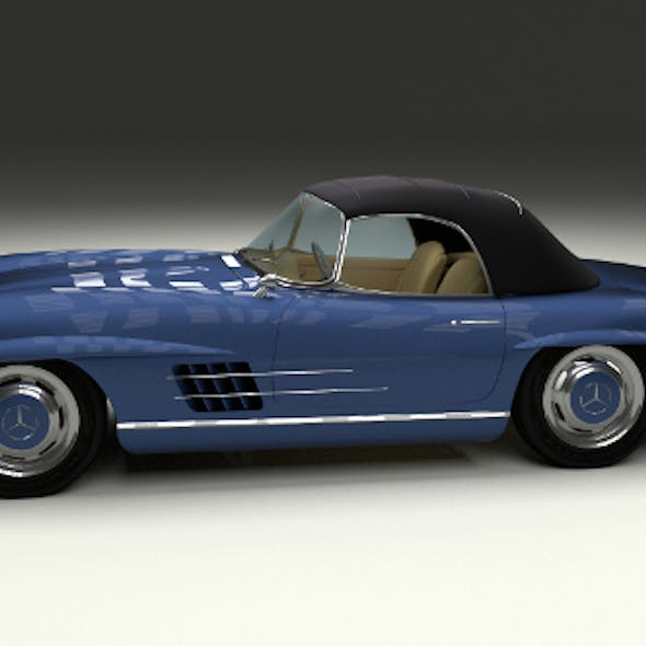 Mercedes 300SL Roaster Top