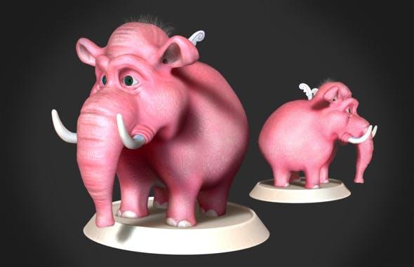Elephant  - 3DOcean Item for Sale