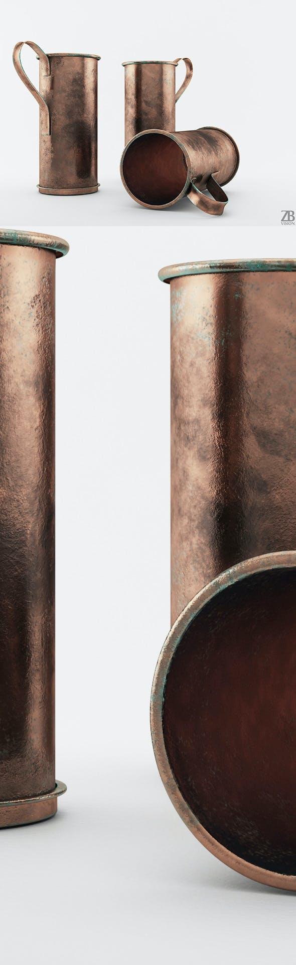 Old Copper Pot - 3DOcean Item for Sale