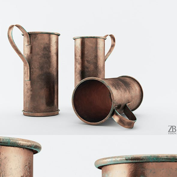 Old Copper Pot