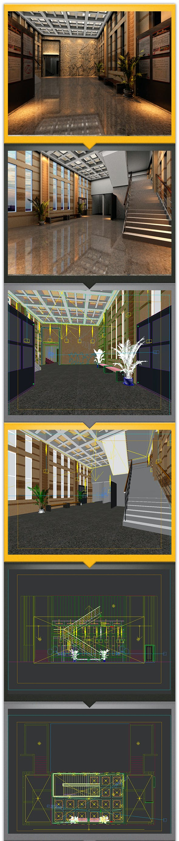 exhibition interiors - 3DOcean Item for Sale