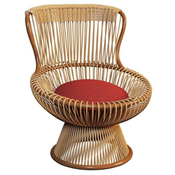 Outdoor wicker chair MARGHERITA