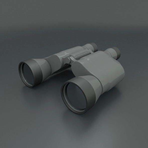 Binocular 3d model - 3DOcean Item for Sale